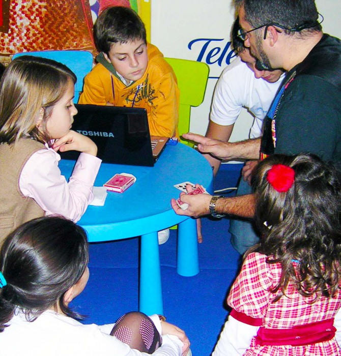 Talleres magia para niños
